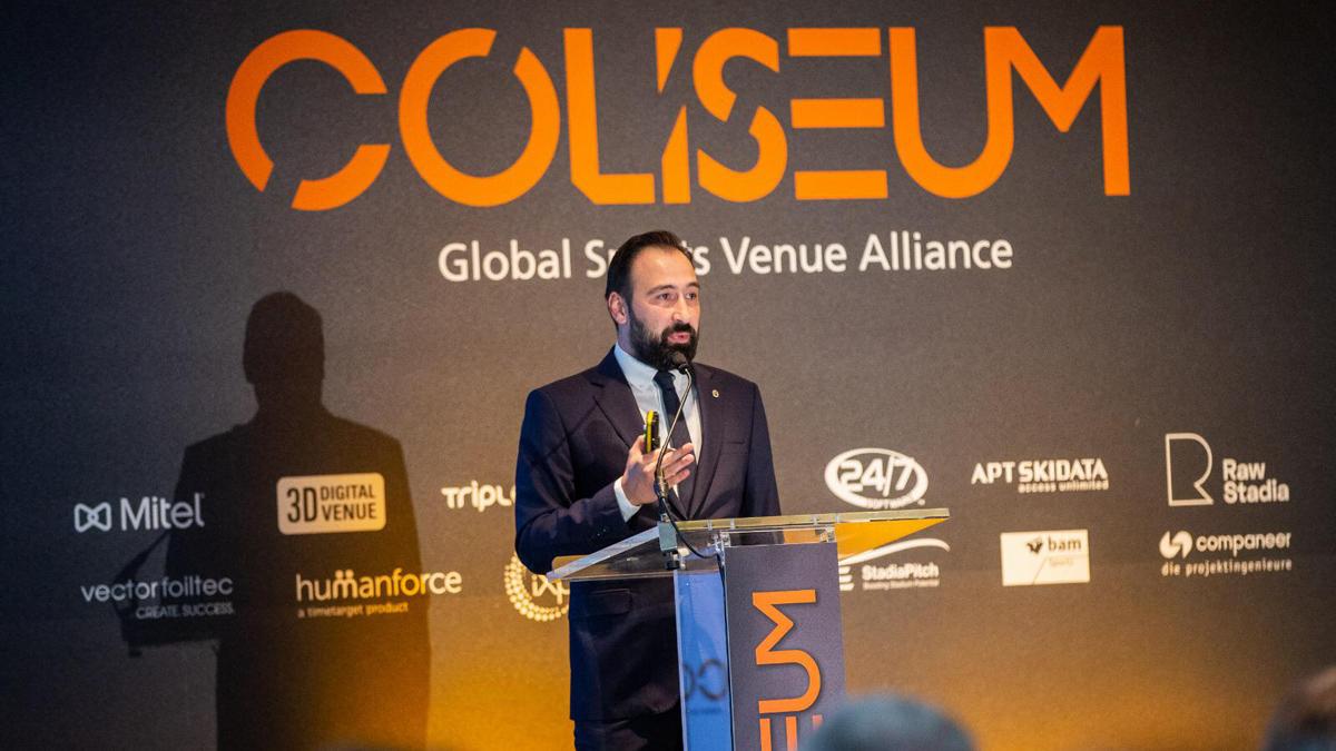 Fenerbahçe Beko Erkek Basketbol Takımımız Coliseum Summit'te temsil edildi