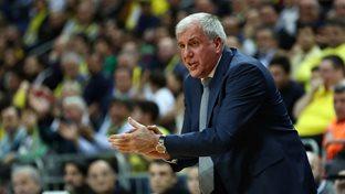 Zeljko Obradovic ve Sinan Güler'in maç önü görüşleri