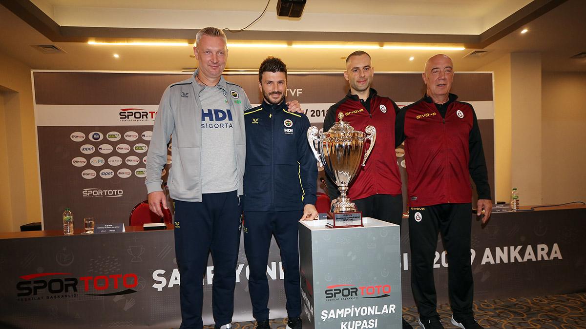 2019 Spor Toto Erkekler Şampiyonlar Kupası medya toplantısı yapıldı