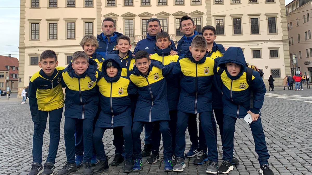 Fenerbahçe U12 Takımımız Almanya'da Çeyrek Finalde Elendi