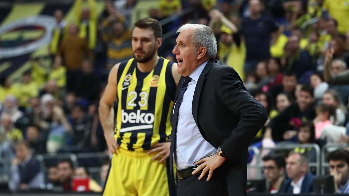 Zeljko Obradovic ve Marko Guduric'in maç önü görüşleri