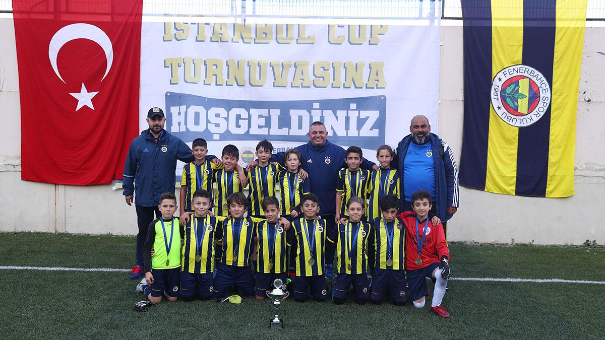 Fenerbahçe Spor Okulları İstanbul Cup Turnuvası devam ediyor