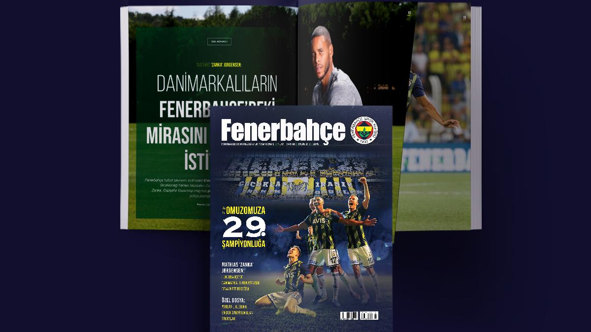 Fenerbahçe Dergisi Eylül sayısı dopdolu