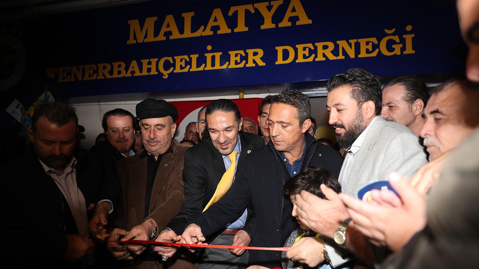 Malatya Derneğimizin yeni lokali Başkanımız Ali Koç'un katılımıyla açıldı