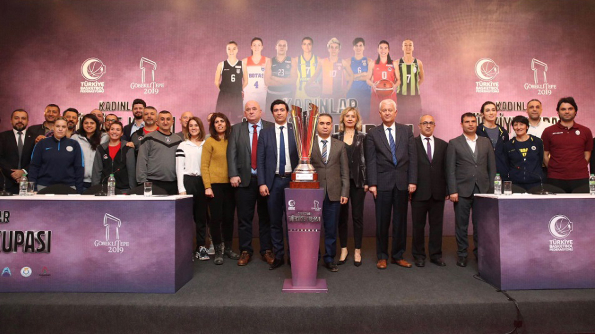 Kadınlar Türkiye Kupası'nın basın toplantısı Şanlıurfa'da düzenlendi