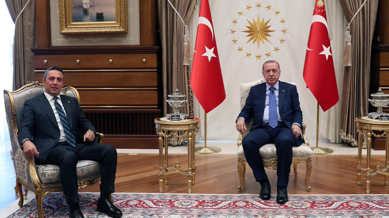 Başkanımız Ali Koç Cumhurbaşkanımız Sayın Recep Tayyip Erdoğan'ı ziyaret etti