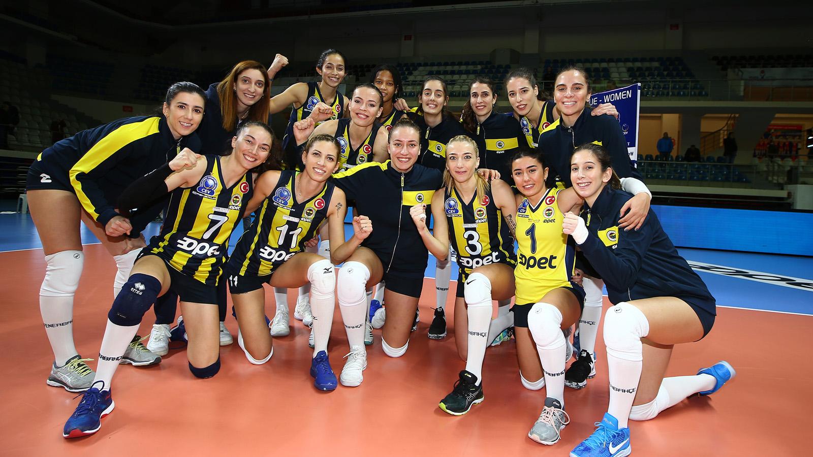 Fenerbahçe Opet, C.S.M. Bucuresti'yi ağırlıyor