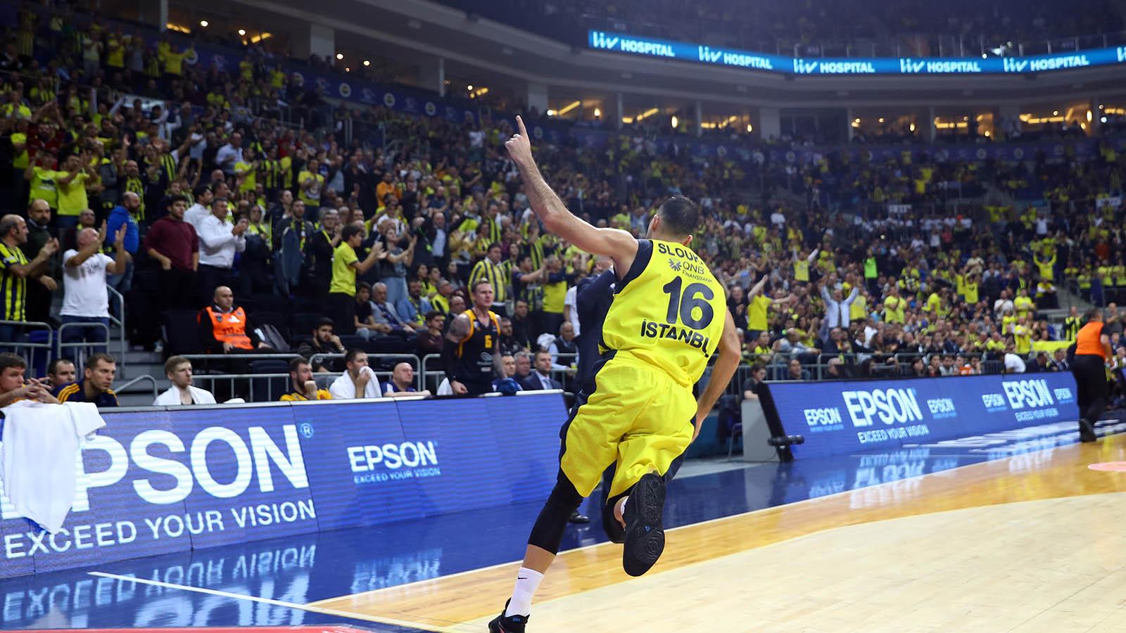 EuroLeague'de 12. haftanın MVP'si Kostas Sloukas