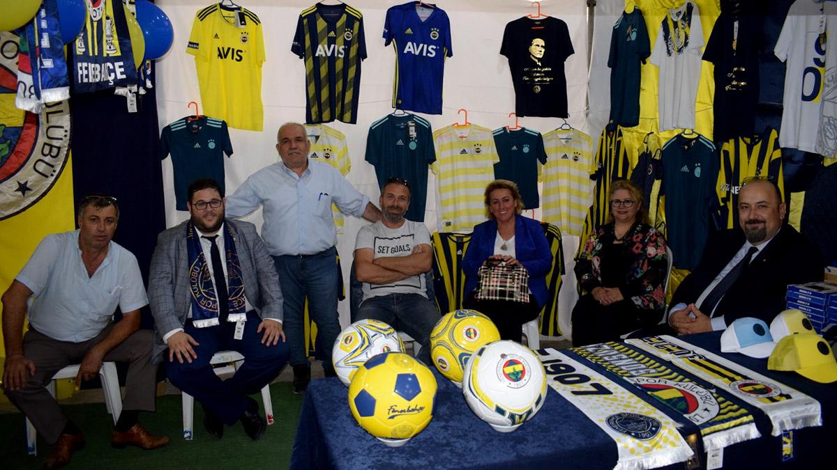 Biga Fenerbahçeliler Derneğimiz, Biga Fuarı'nda yerini aldı