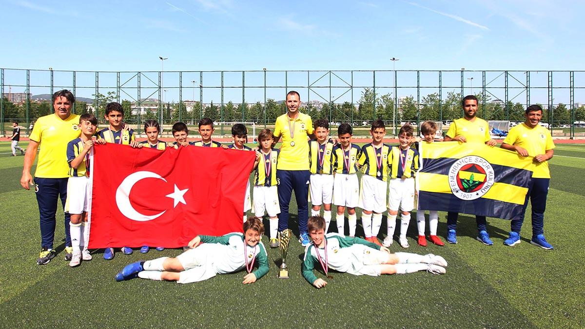 U11 Takımımızdan bir şampiyonluk daha