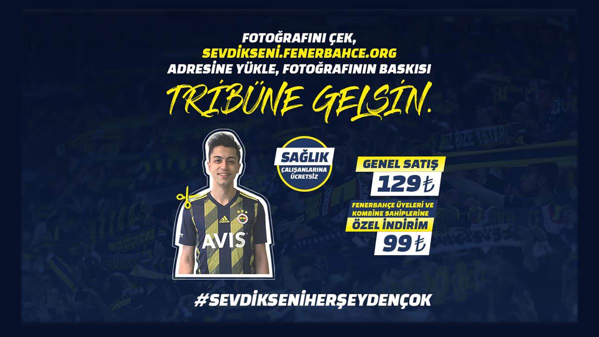 Fenerbahçe sahada taraftarı tribünde! Tüm detaylar sevdiksenifenerbahce.org adresinde!