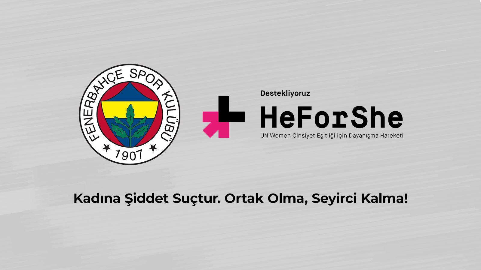 Kadına Şiddetin Karşısındayız! #HeForShe