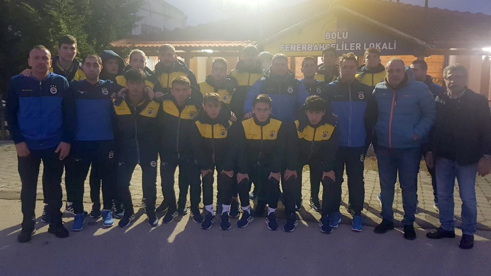 Bolu Derneğimiz U19 takımımızı misafir etti