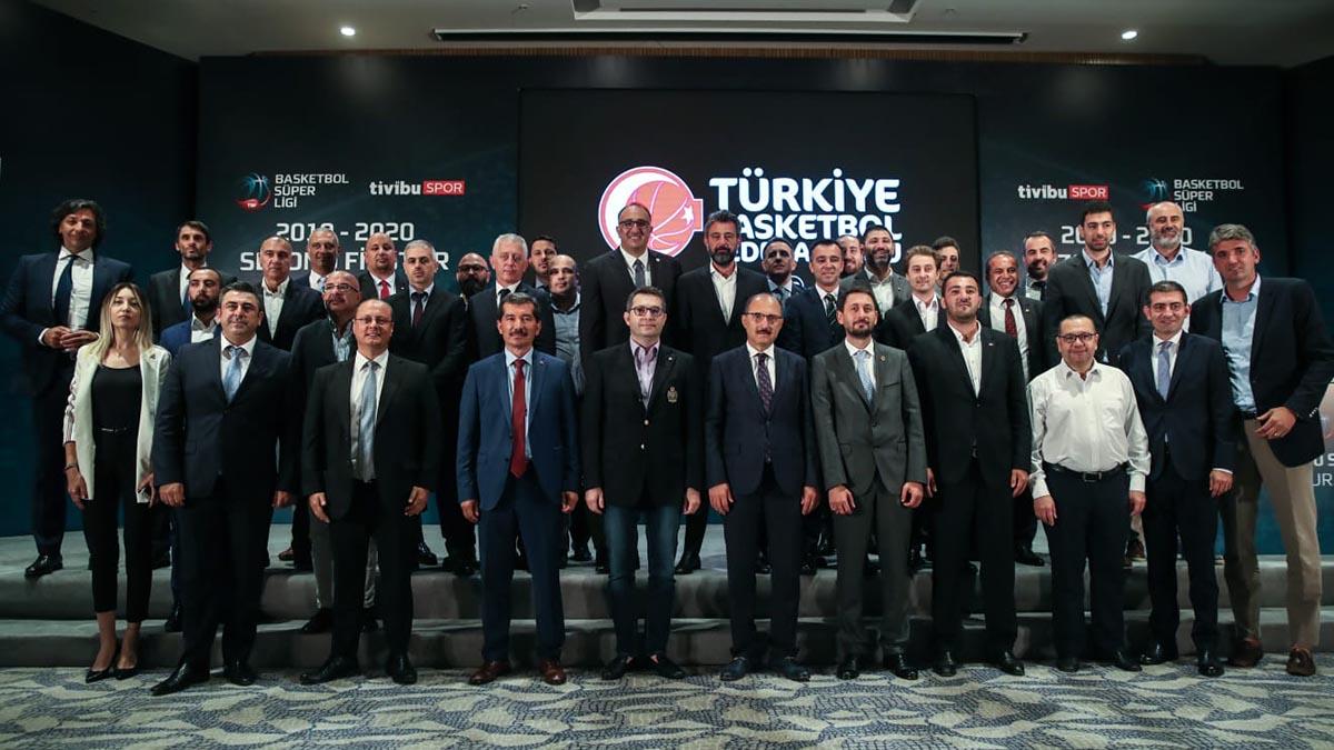 2019-2020 Erkekler Basketbol Süper Ligi fikstürü belli oldu
