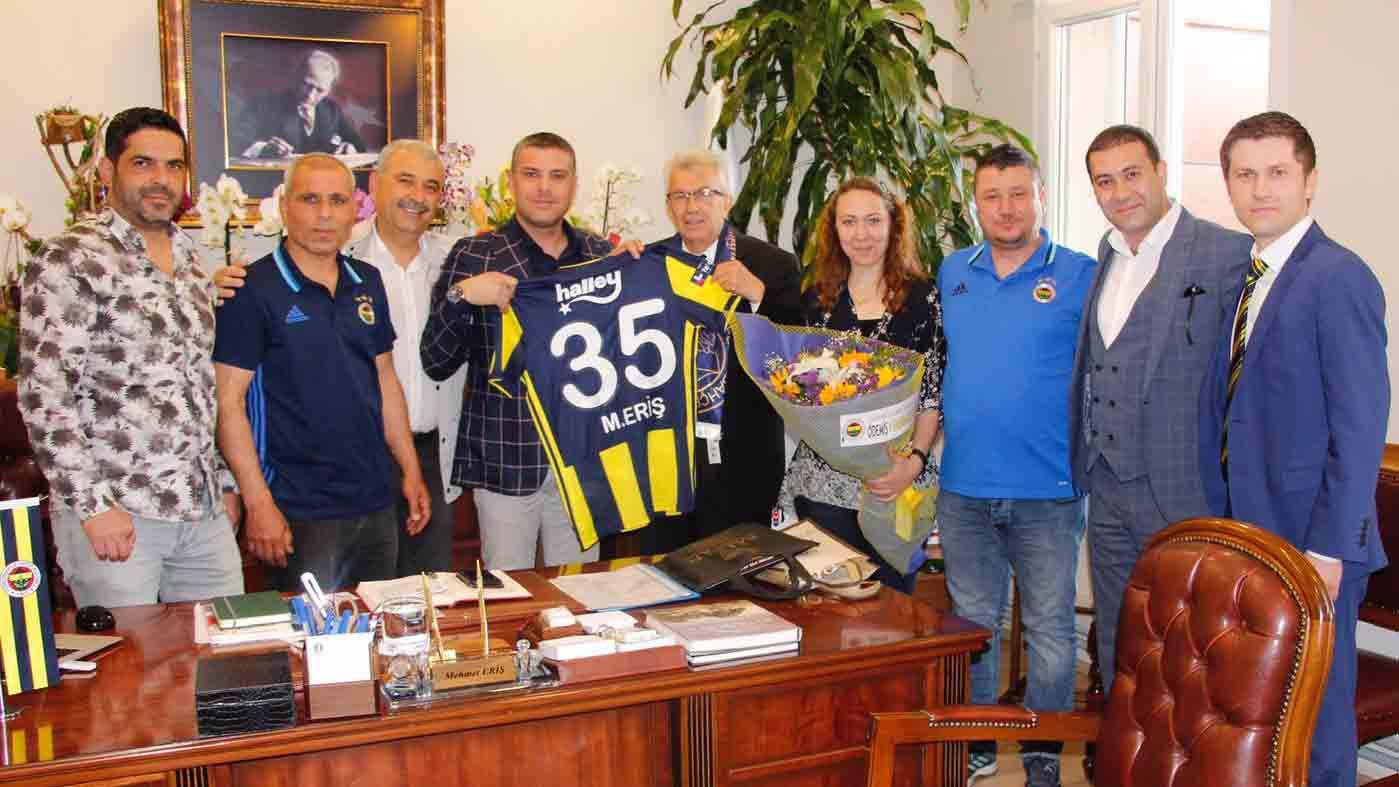 Ödemiş Derneğimiz Belediye Başkanı Mehmet Eriş'i ziyaret etti