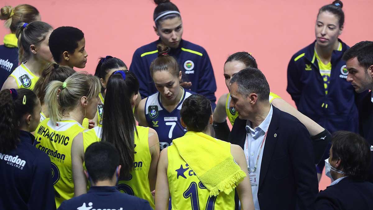 Fenerbahçe Opet final etabının ikinci maçına çıkıyor