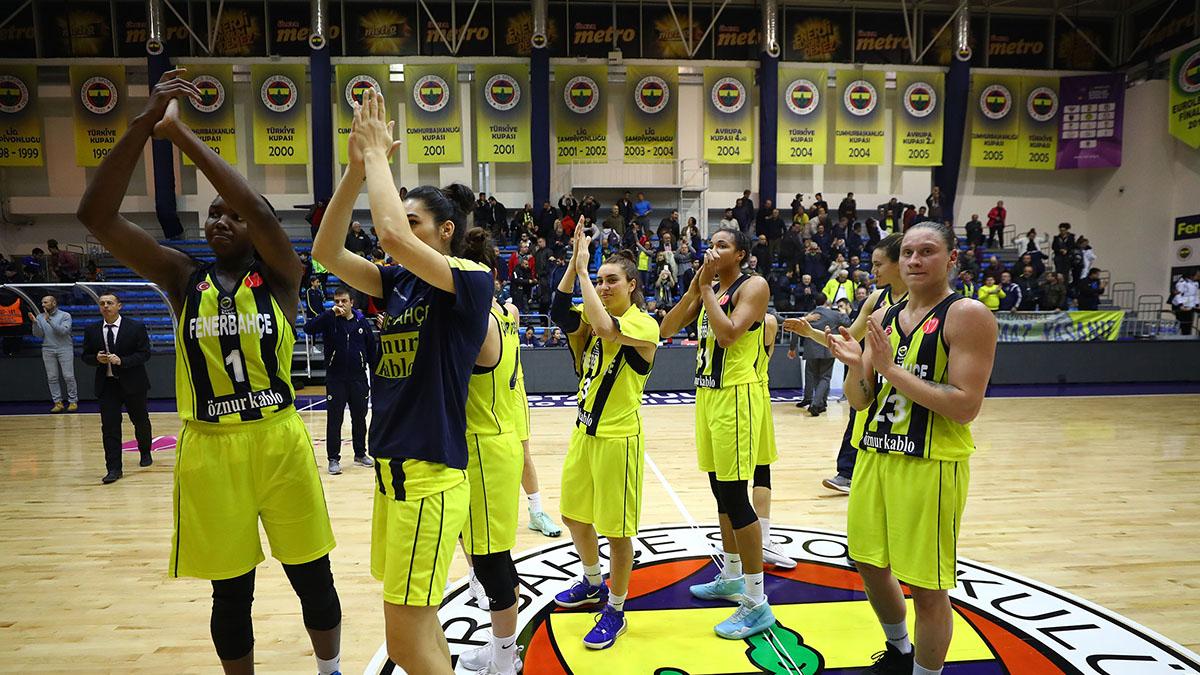 Fenerbahçe Öznur Kablo, ÇBK Mersin Yenişehir Belediyesi'ni konuk ediyor