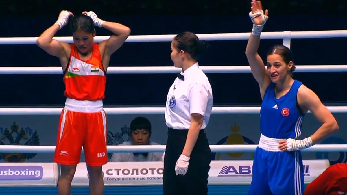 Milli boksörümüz Buse Naz Çakıroğlu finale yükseldi