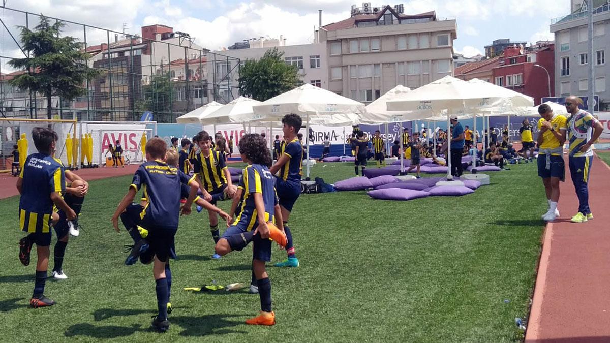 Fenerbahçe Spor Okulları Türkiye Futbol Şampiyonası Finalleri gerçekleştiriliyor