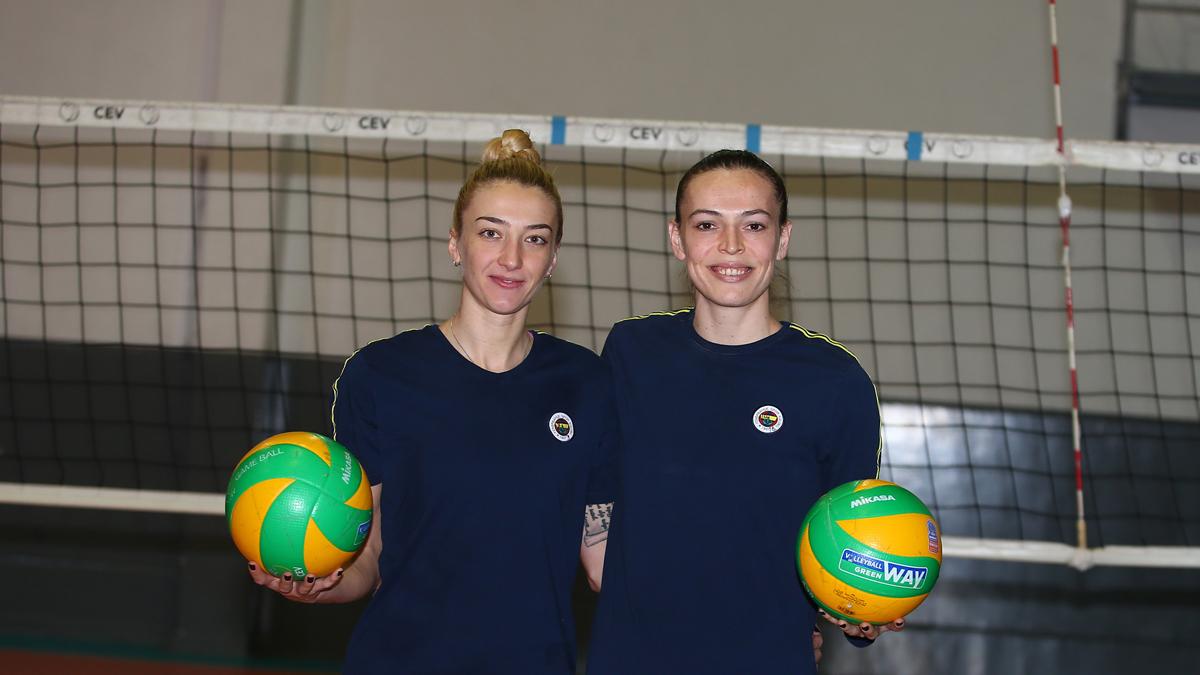 Eda Erdem Dündar ve Ana Antonijevic'ten Chemik Police maçı öncesi açıklamalar