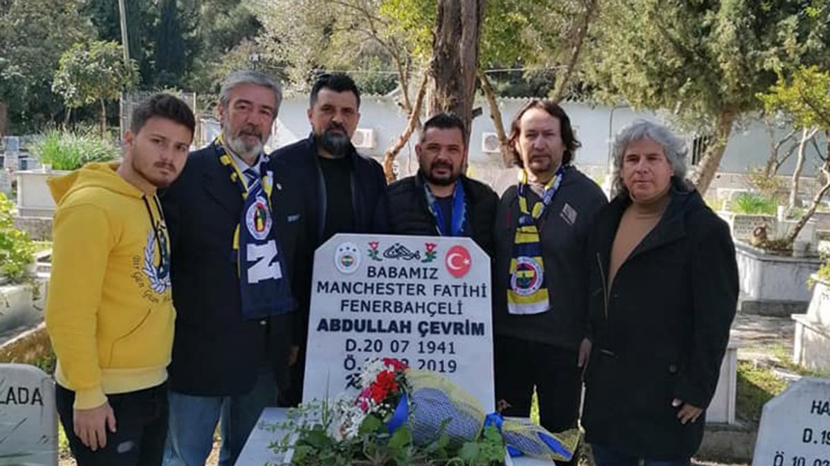 Fethiye Fenerbahçeliler Derneği, Abdullah Çevrim'i unutmadı