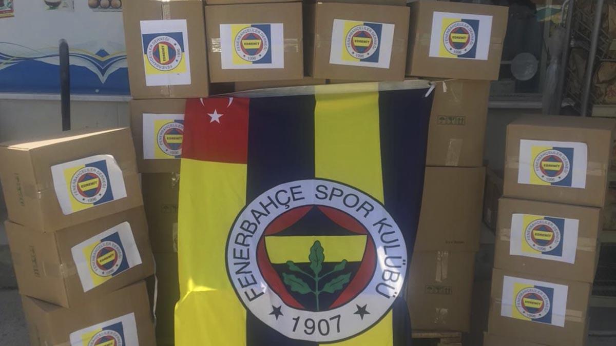 Edremit Fenerbahçeliler Derneği'nden yardım kampanyası