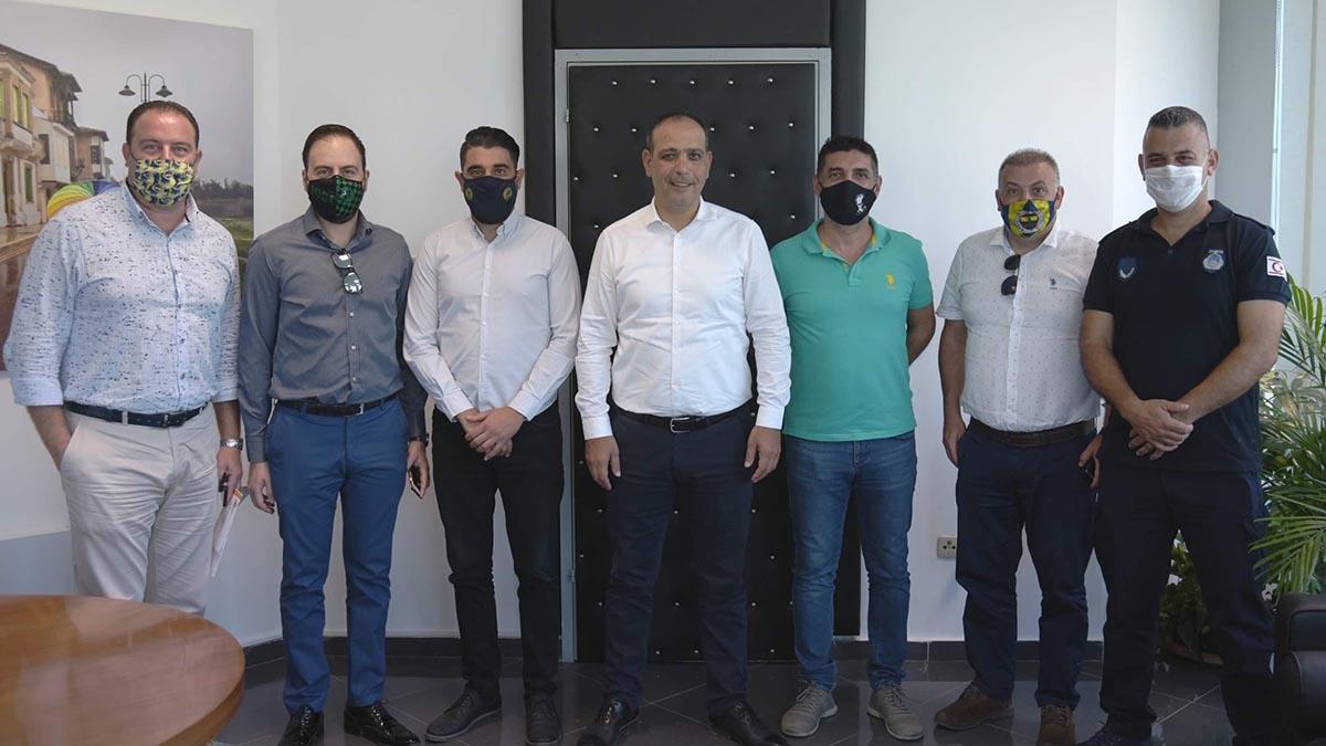 KKTC Derneğimizden Lefkoşa Türk Belediyesi'ne ziyaret