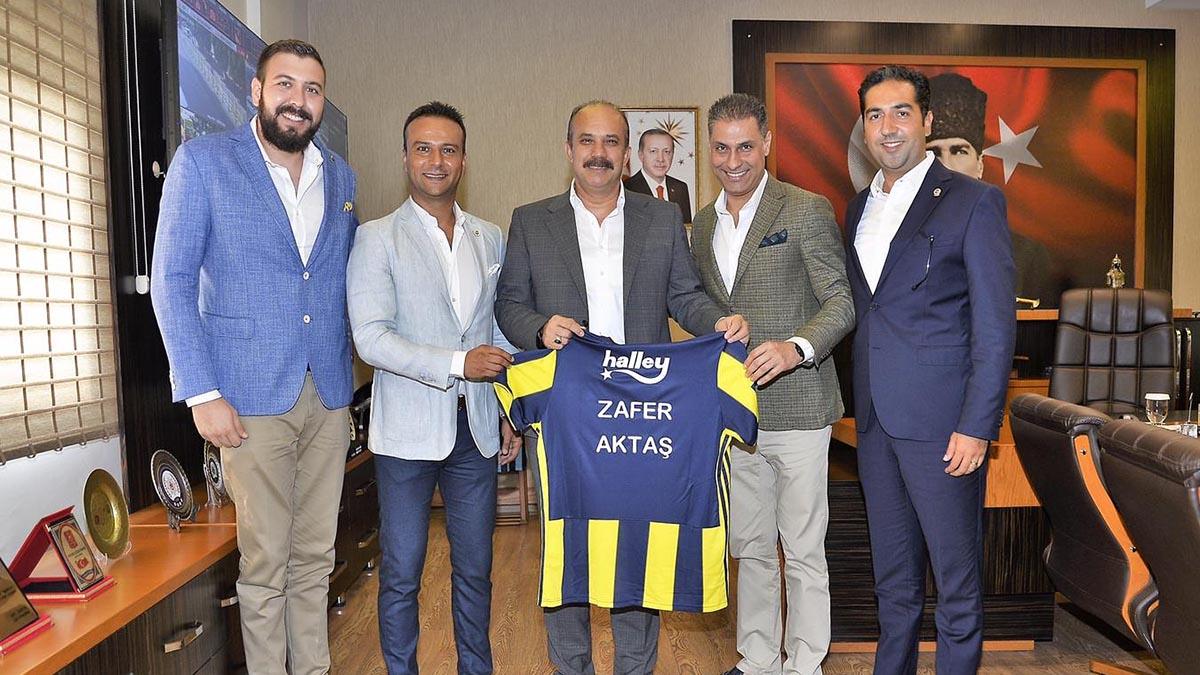 Adana Derneğimizden Emniyet Müdürü Zafer Aktaş'a ziyaret