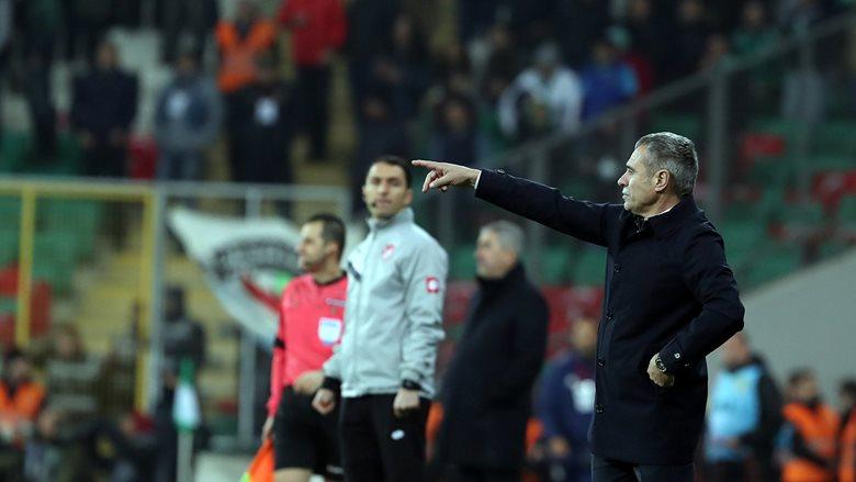 Teknik Direktörümüz Ersun Yanal'dan maç sonu değerlendirmesi