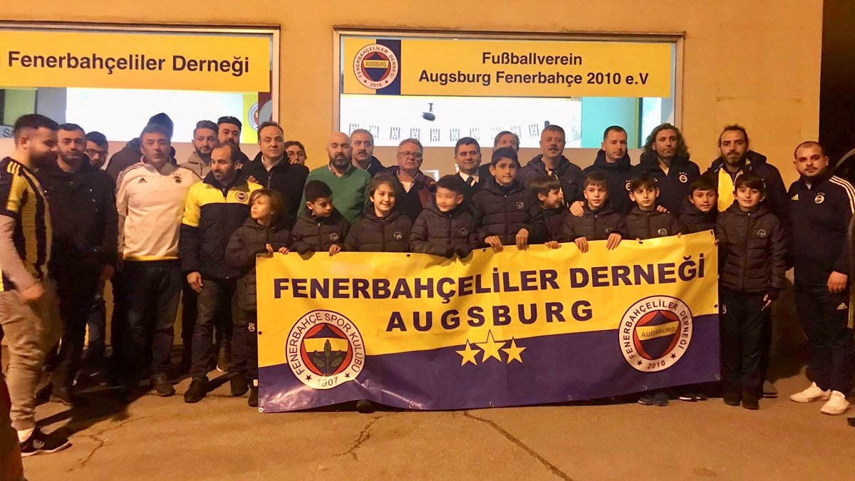 Augsburg Fenerbahçeliler Derneğimiz U11 Takımımızı yalnız bırakmadı
