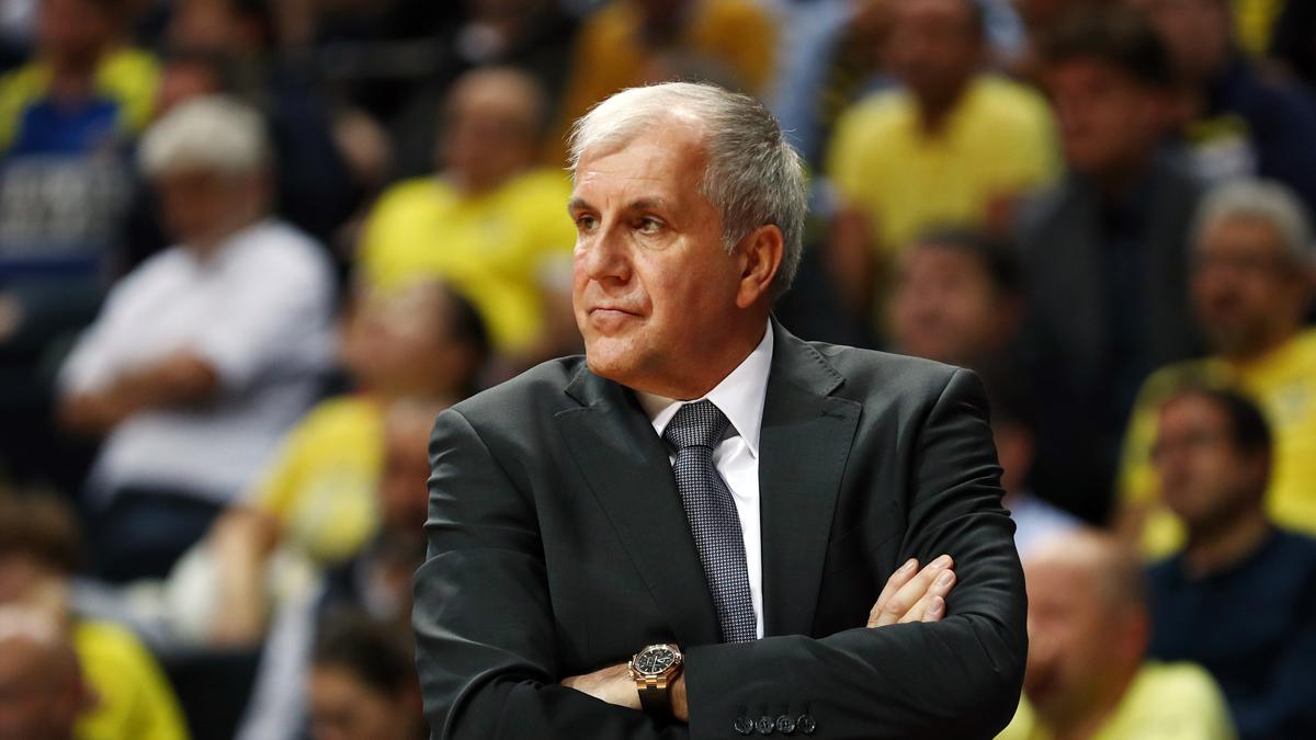 Başantrenörümüz Zeljko Obradovic, Kızılyıldız maçını değerlendirdi