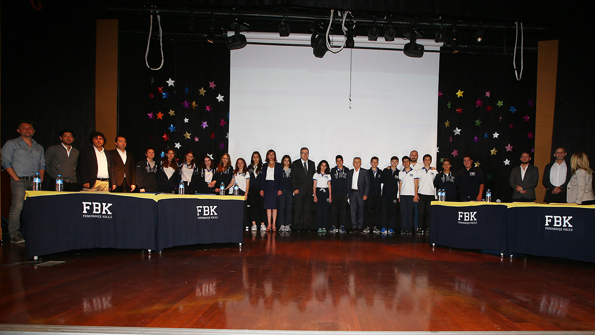 Fenerbahçe Koleji'nde Topraksız Tarım konulu konferans gerçekleştirildi