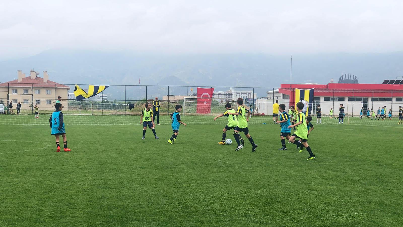 Fenerbahçe Spor Okulları Yaz Kampı'nın 3. günü tamamlandı