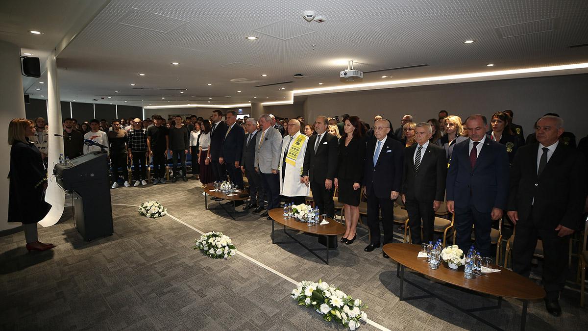 FENERBAHÇE ÜNİVERSİTESİ'NDE EĞİTİM / ÖĞRETİM BAŞLADI