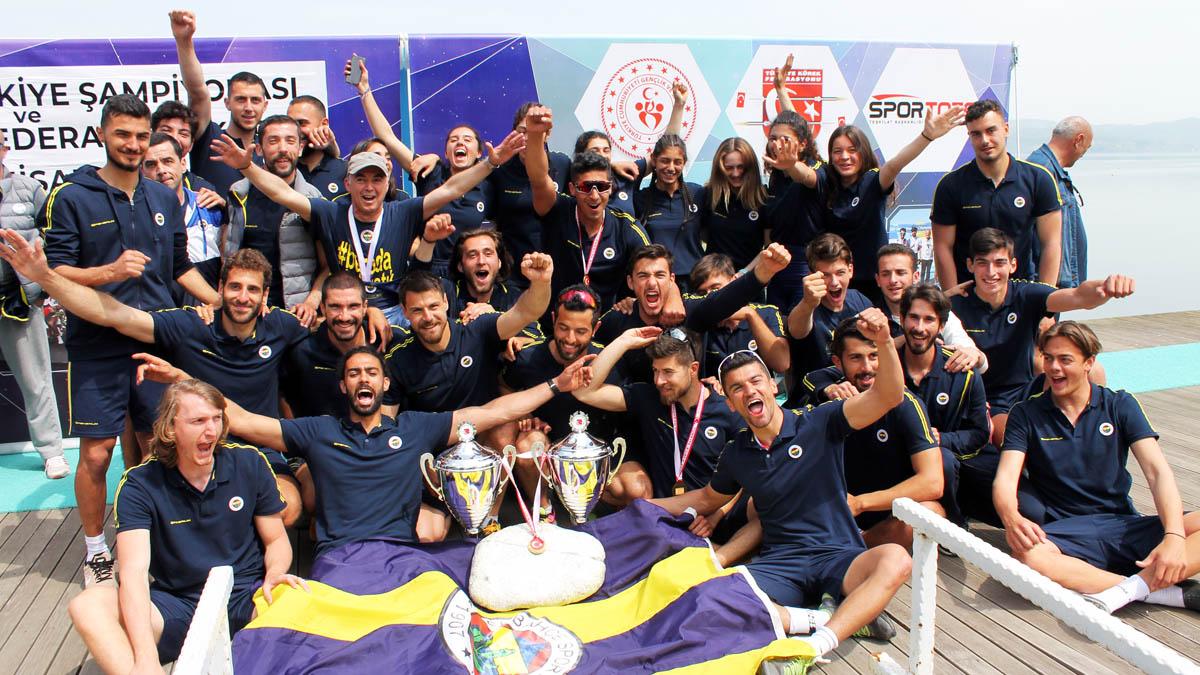 Kürek Şubemiz Kadınlar ve Erkeklerde Türkiye Şampiyonu oldu
