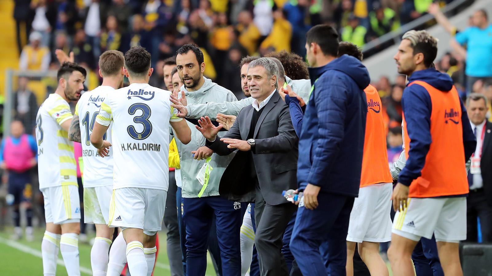 Ersun Yanal: Bu senenin özeti gibi bir maç oldu