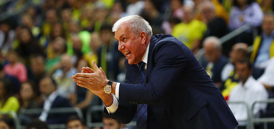 Başantrenörümüz Zeljko Obradovic ile basketbolcularımız, Valencia galibiyetini değerlendirdi