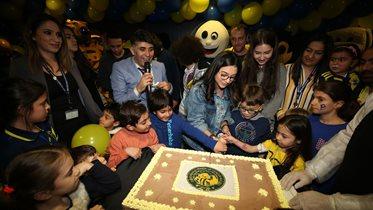 Fenerbahçe Çocuk ve Gençlik Kulübümüz'ün 3. yaş gününü coşkulu bir etkinlikle kutladık