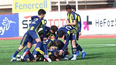 Fenerbahçe 2-0 Bursaspor (U14 Ligi)