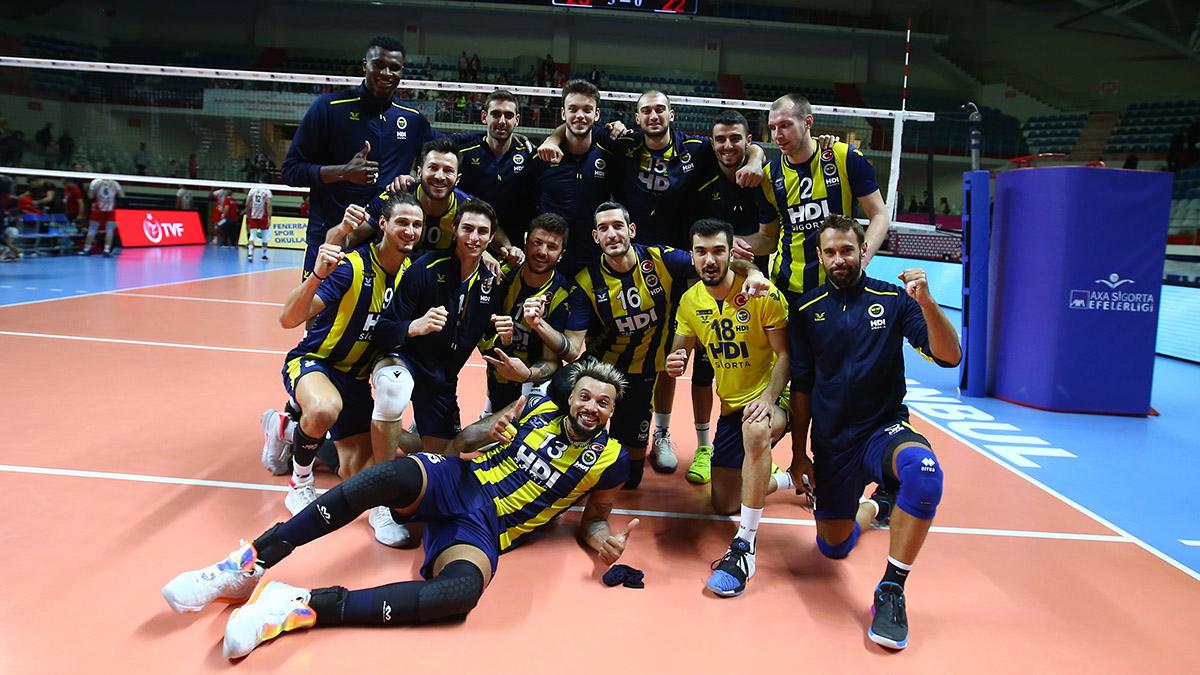 Fenerbahçe HDI Sigorta 3-0 Ziraat Bankası