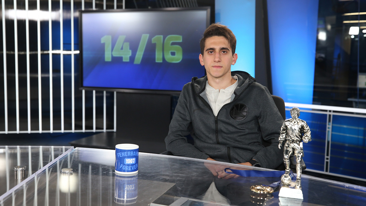 Altyapı Futbolcumuz Ömer Faruk Beyaz, 14/16 programına konuk oldu