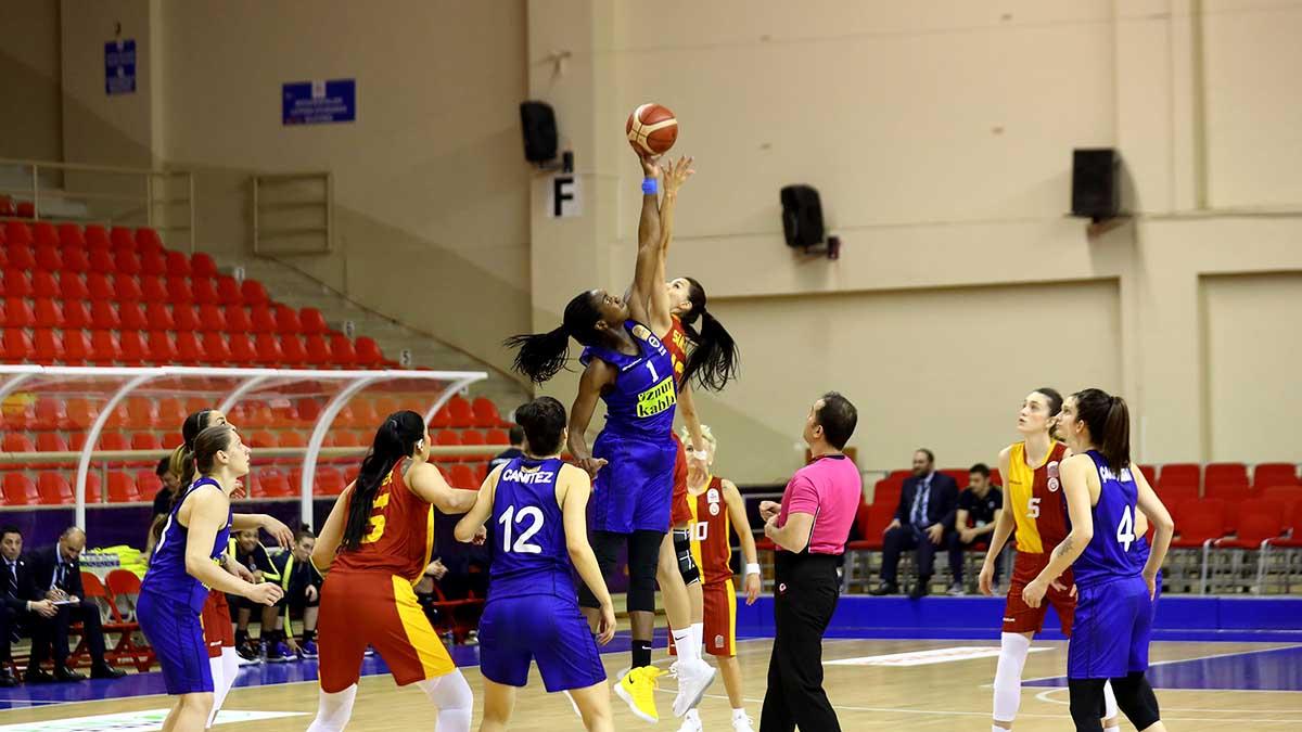 Galatasaray 80-77 Fenerbahçe Öznur Kablo