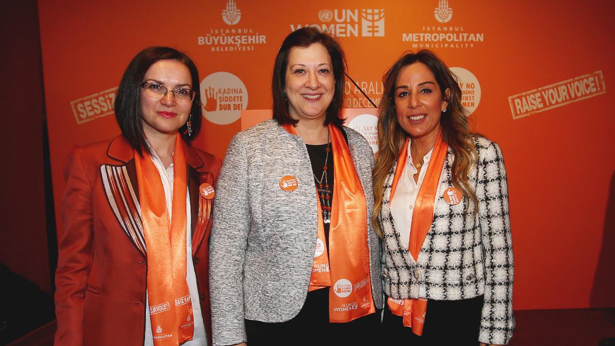 Kadına şiddete karşı 16 Günlük Aktivizm Kampanyası'nın kapanış töreni gerçekleşti