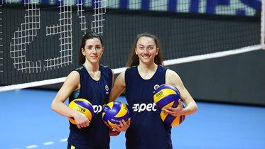 Fatma Yıldırım ve Merve Dalbeler'den Scandicci maçı öncesi açıklamalar