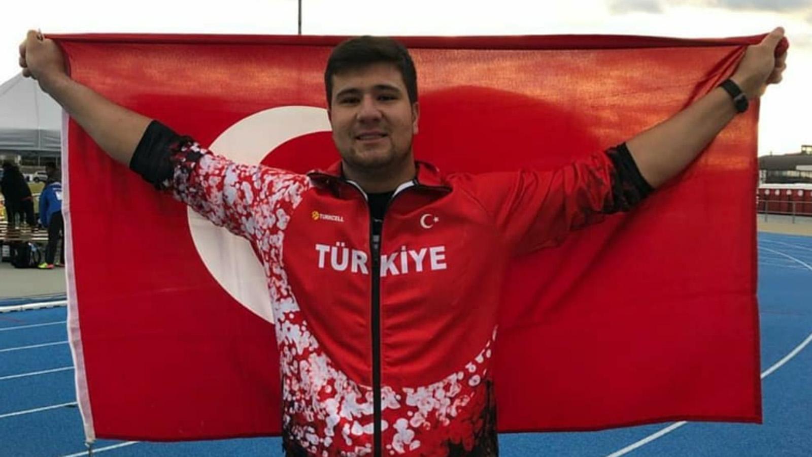 Alperen Karahan Avrupa Atmalar Kupası'nda bronz madalya kazandı