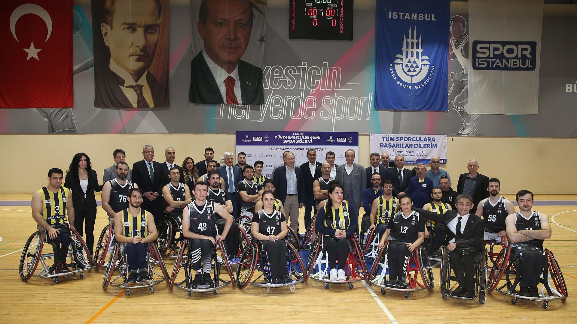Dünya Engelliler Günü Spor Şöleni gerçekleşti