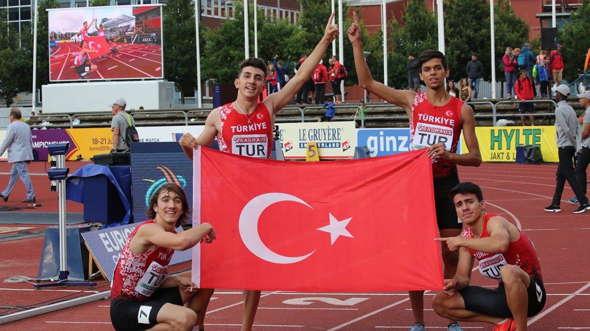 Atletlerimiz Avrupa U20 Şampiyonası'ndan madalyalarla dönüyor