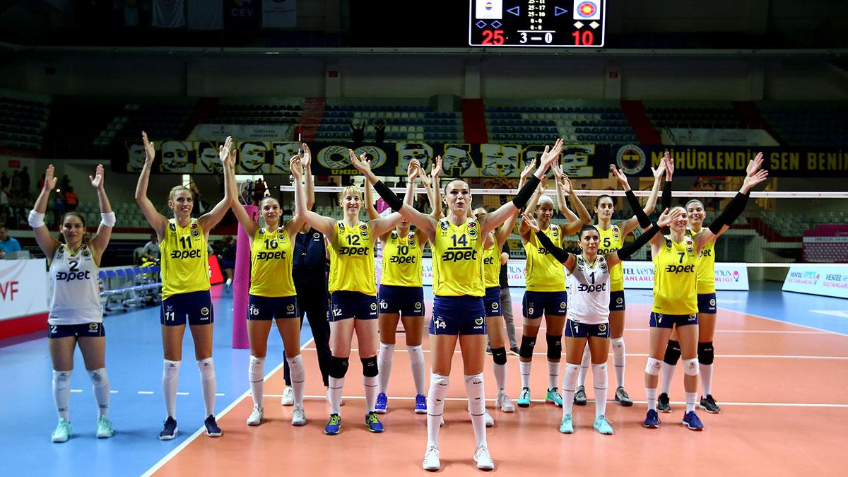 Fenerbahçe Opet, CEV Şampiyonlar Ligi'ndeki ilk maçına çıkıyor
