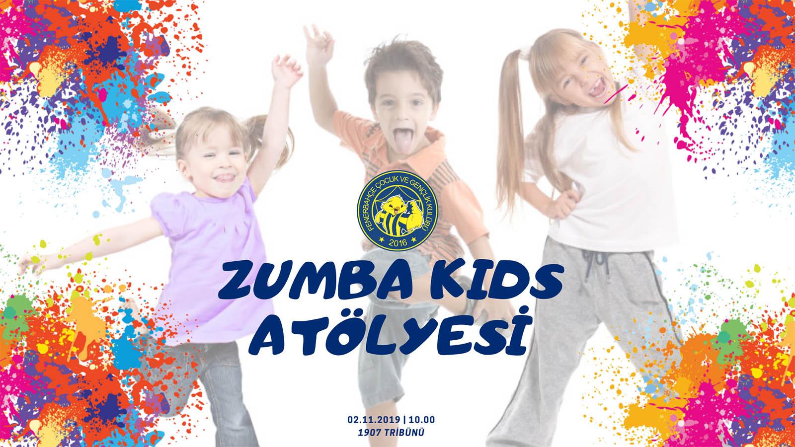 Çocuk ve Gençlik Kulübümüzden Zumba Kids Atölyesi