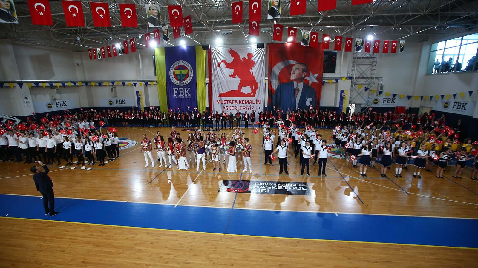 Fenerbahçe Koleji'nde 19 Mayıs coşkusu